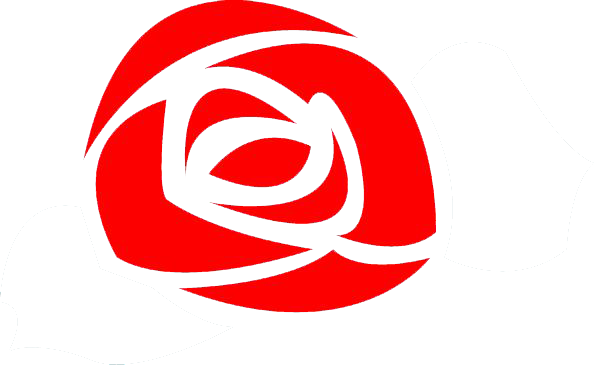 Rose logo white